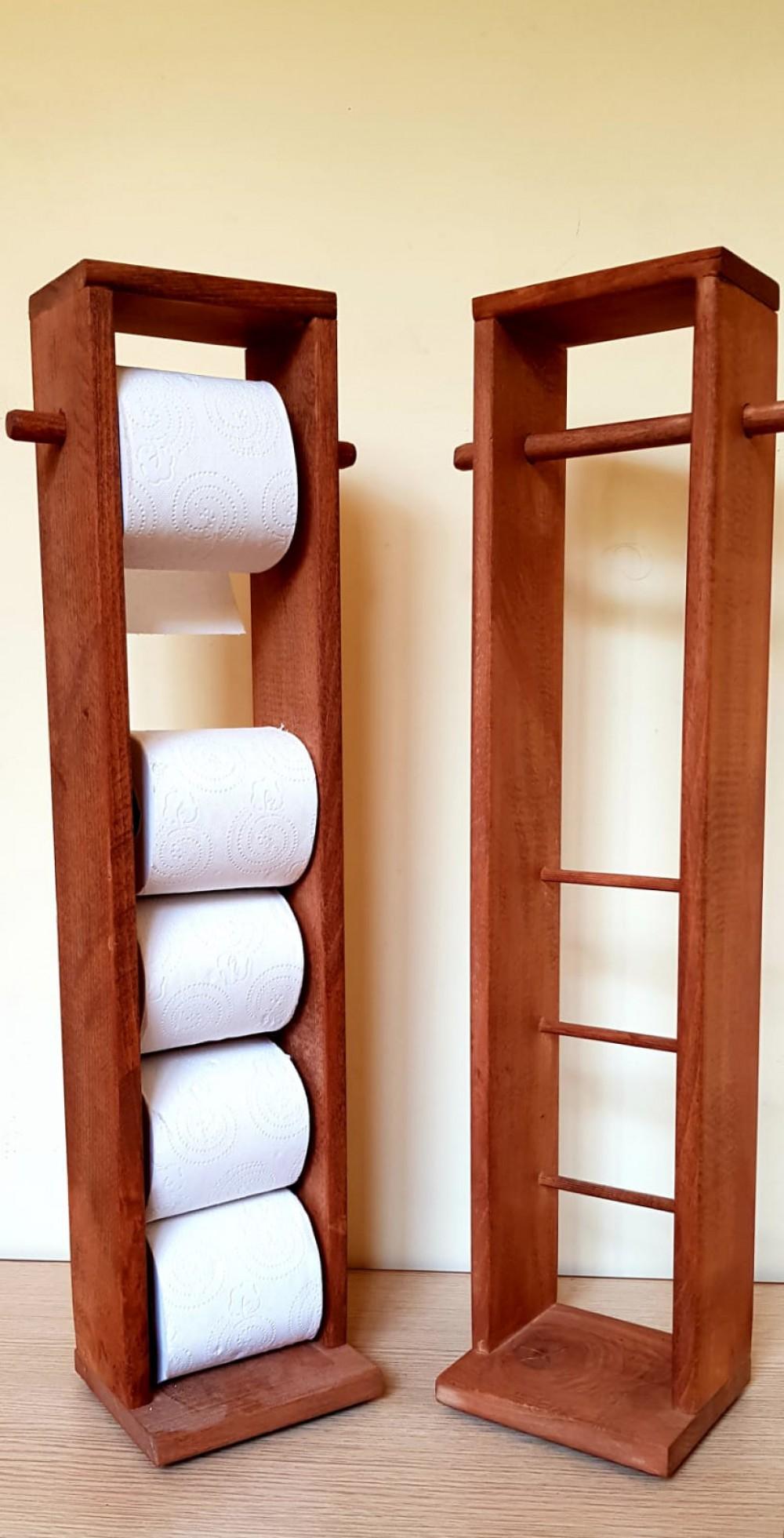 Ahşap Tuvalet Kağıtlığı