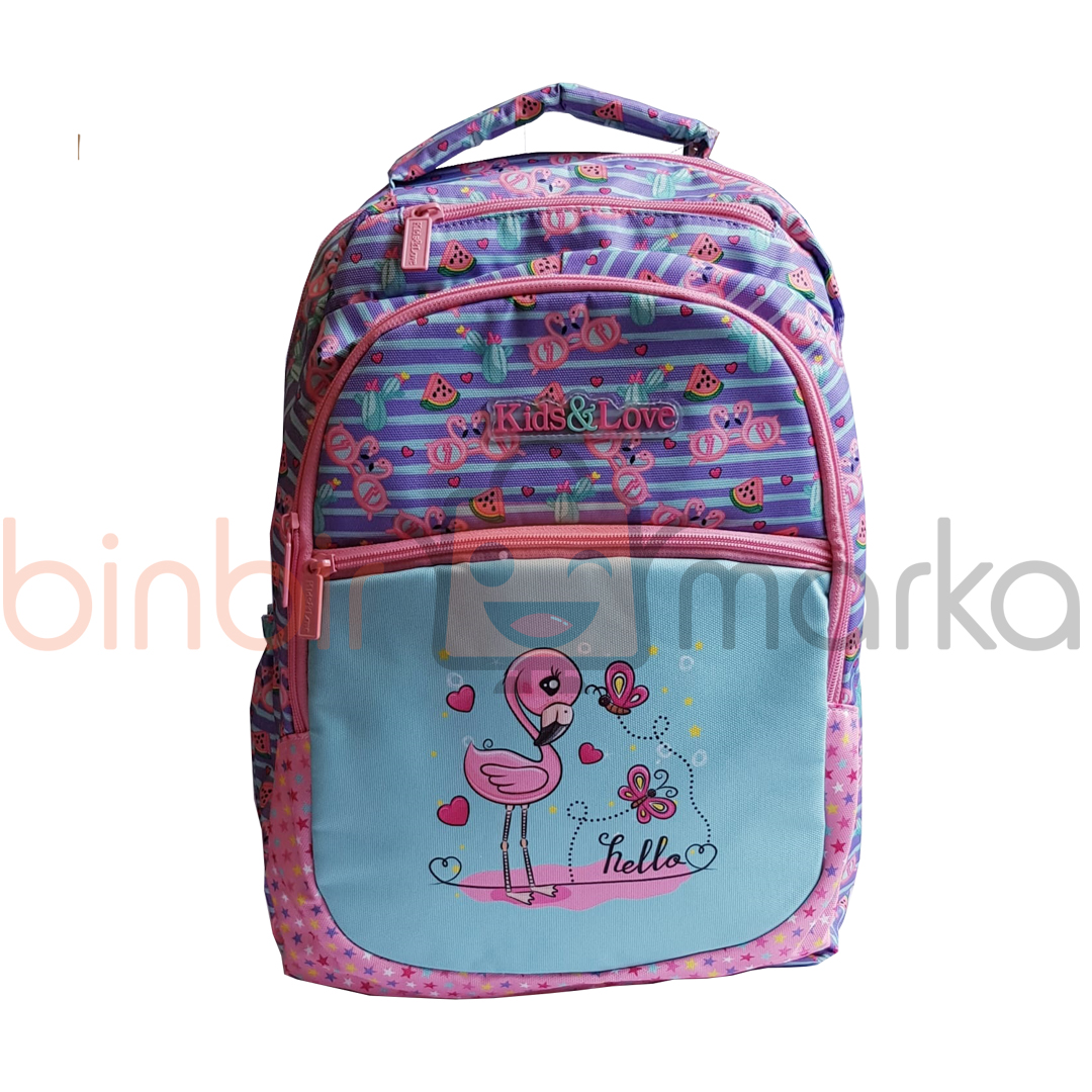 Kaukko Design Flamingo Sırt Çantası