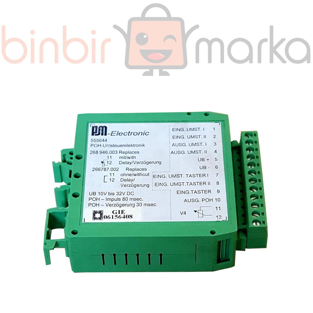 Putzmaister Elektronik Yeşil Kart 266787002