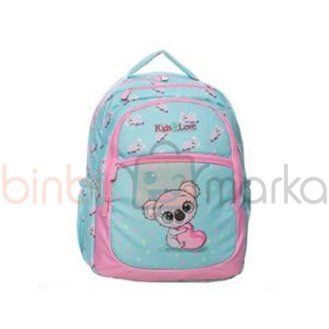 Kaukko Kids Love Design Sırt Çantası Koala L5049